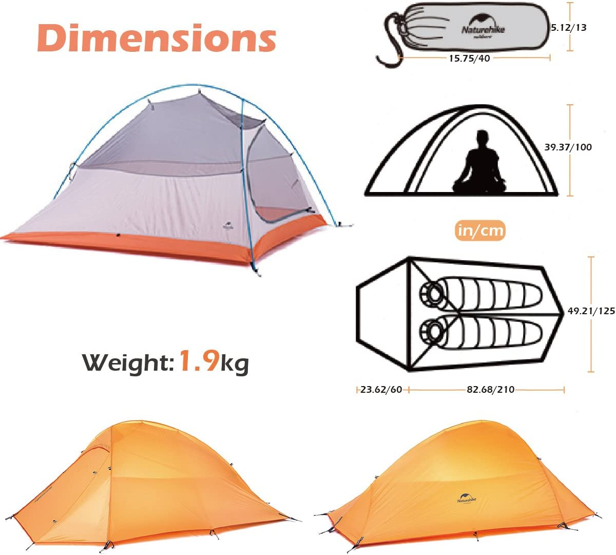 Camping Backpacking Tent One Person |