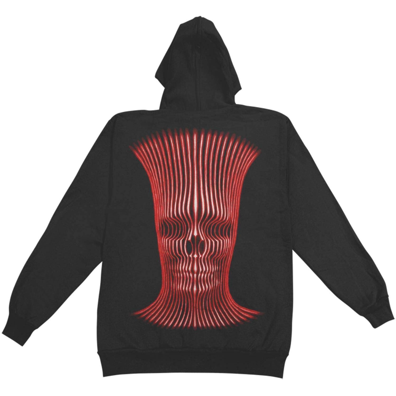 FEAMERCH Tool Mens X-Ray Man Zipup Hoodie Black