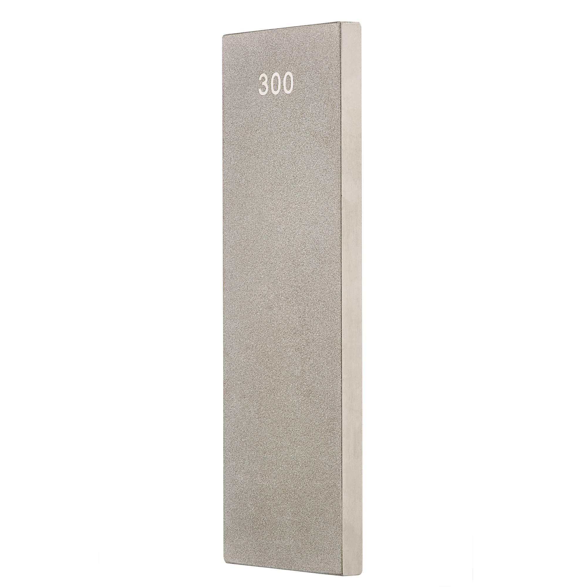 Trend 6 Inch Precision Diamond Bench Stone Silver
