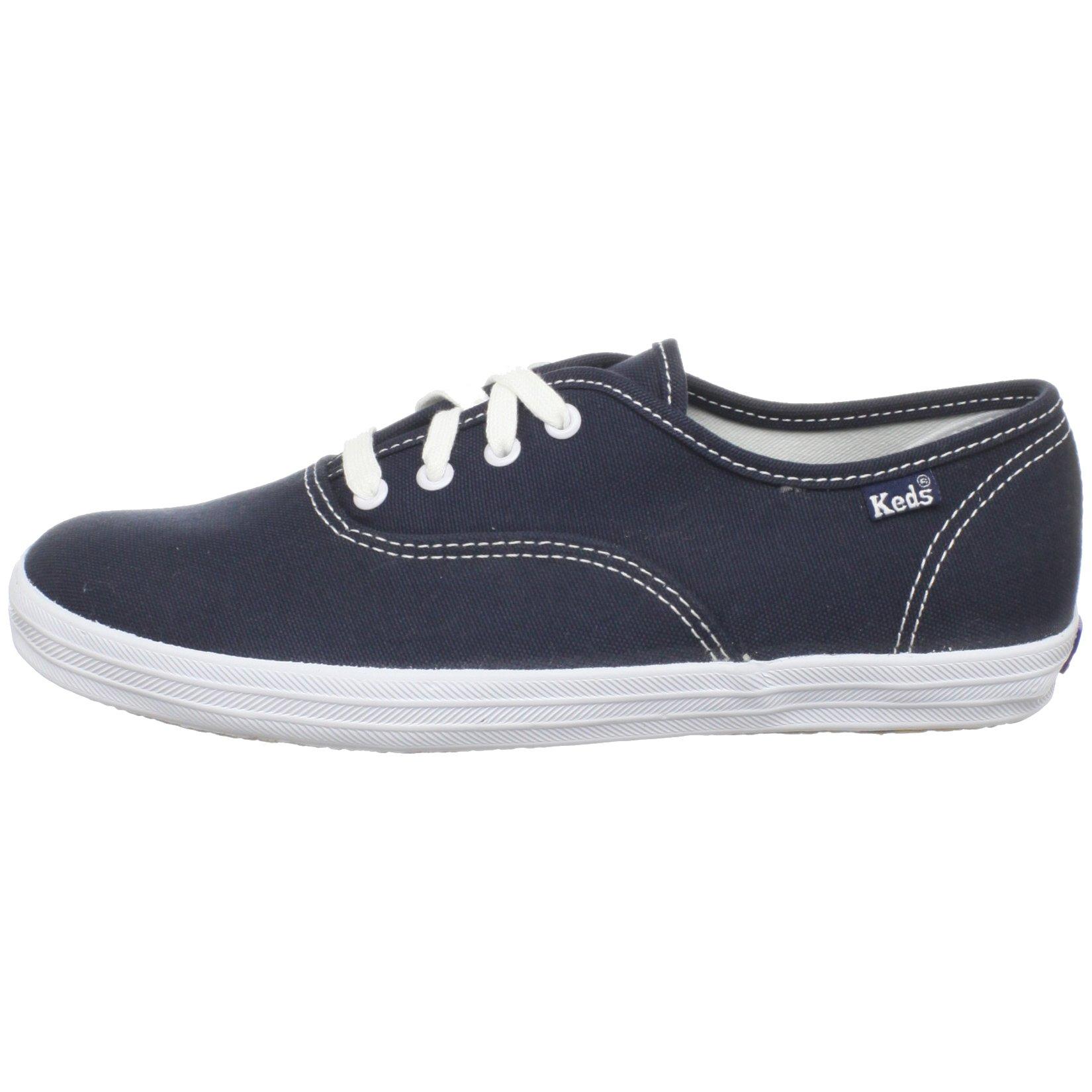 Keds Original Champion CVO Sneaker (Toddler/Little Kid/Big Kid),Navy/White,13.5 M US Little Kid by Keds (Image #5)