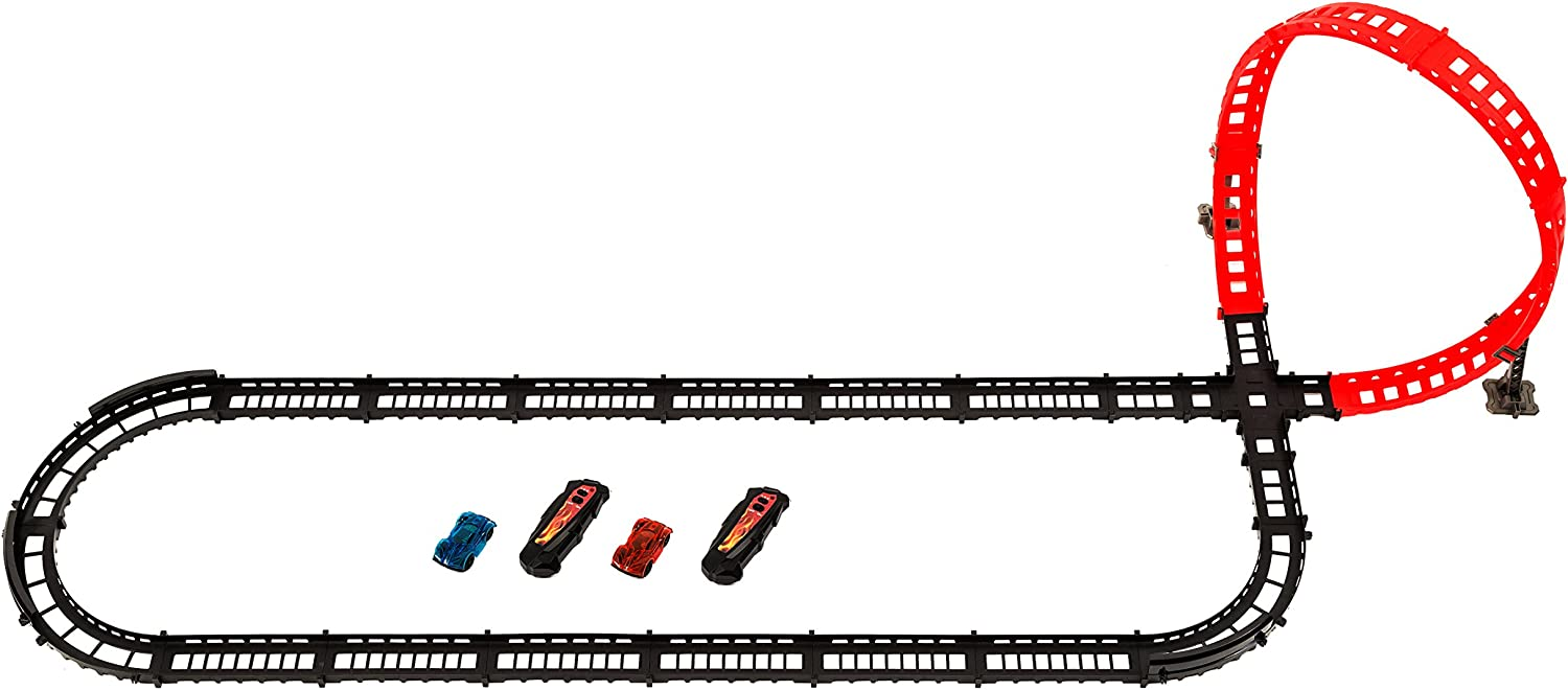 3 Track Designs MMP Living Remote Control High Speed Race Track Set 2 Cars Over 14 of Track