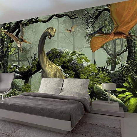 Amazon Com Pbldb 3d Stereo Dinosaur Wall Painting Children Kids