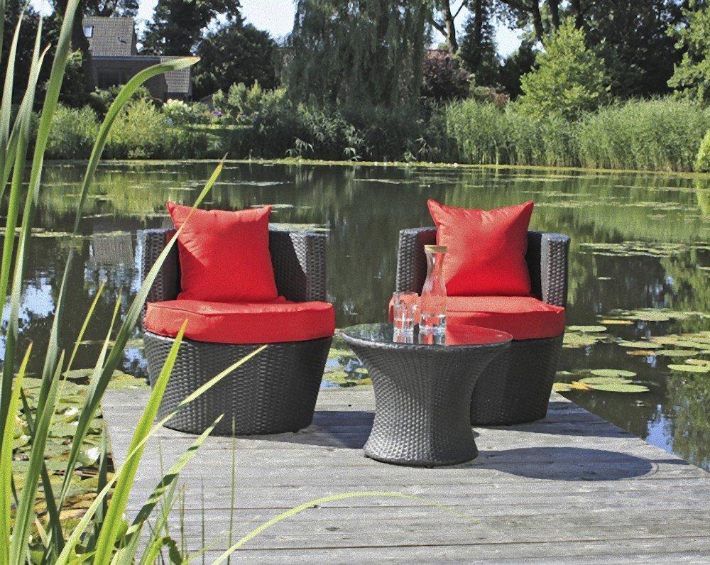 Garden Pleasure Club Set Sitzgruppe Garten Sessel Lounge Stuhl Tisch ...
