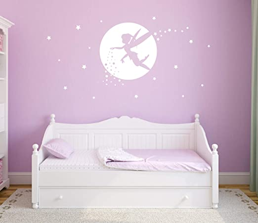 Fairy Art Fairy Decor Pixie Dust Star Wand Wall Decal Etsy Fairy Room Girls Room Decor Baby Girl Room