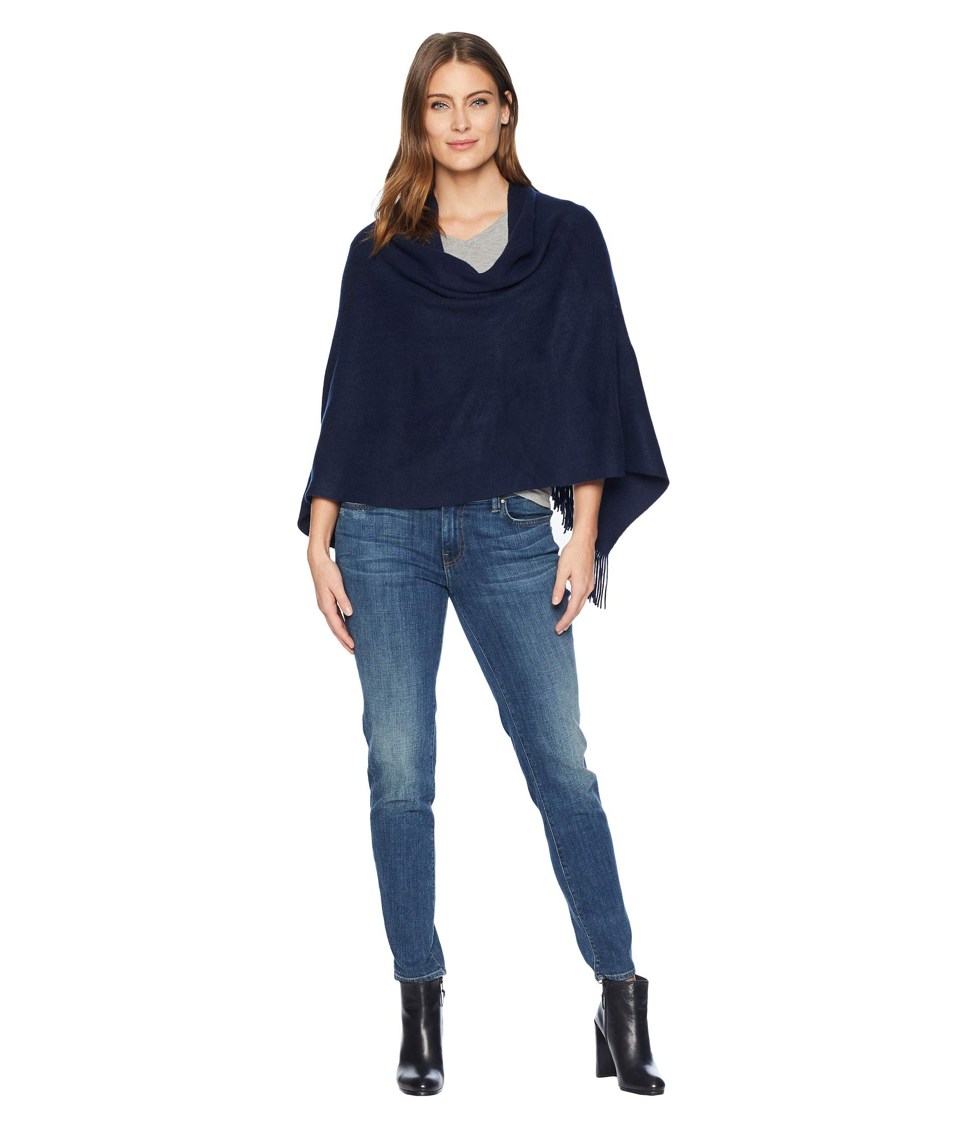 Echo Women's Milk Soft Topper, Navy, One Size by Echo Design