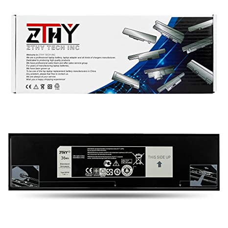 ZTHY HXFHF Laptop Battery Replacement for Dell Venue 11 Pro 7130 Tablet  Venue 11 Pro 7139 Series VJF0X VT26R XNY66 451-BBGR 0VT26R 7 4V 36Wh - 12