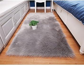 Flauschig Home Super Weiche Kunstfell Fake Pelz Sofa Couch Hocker