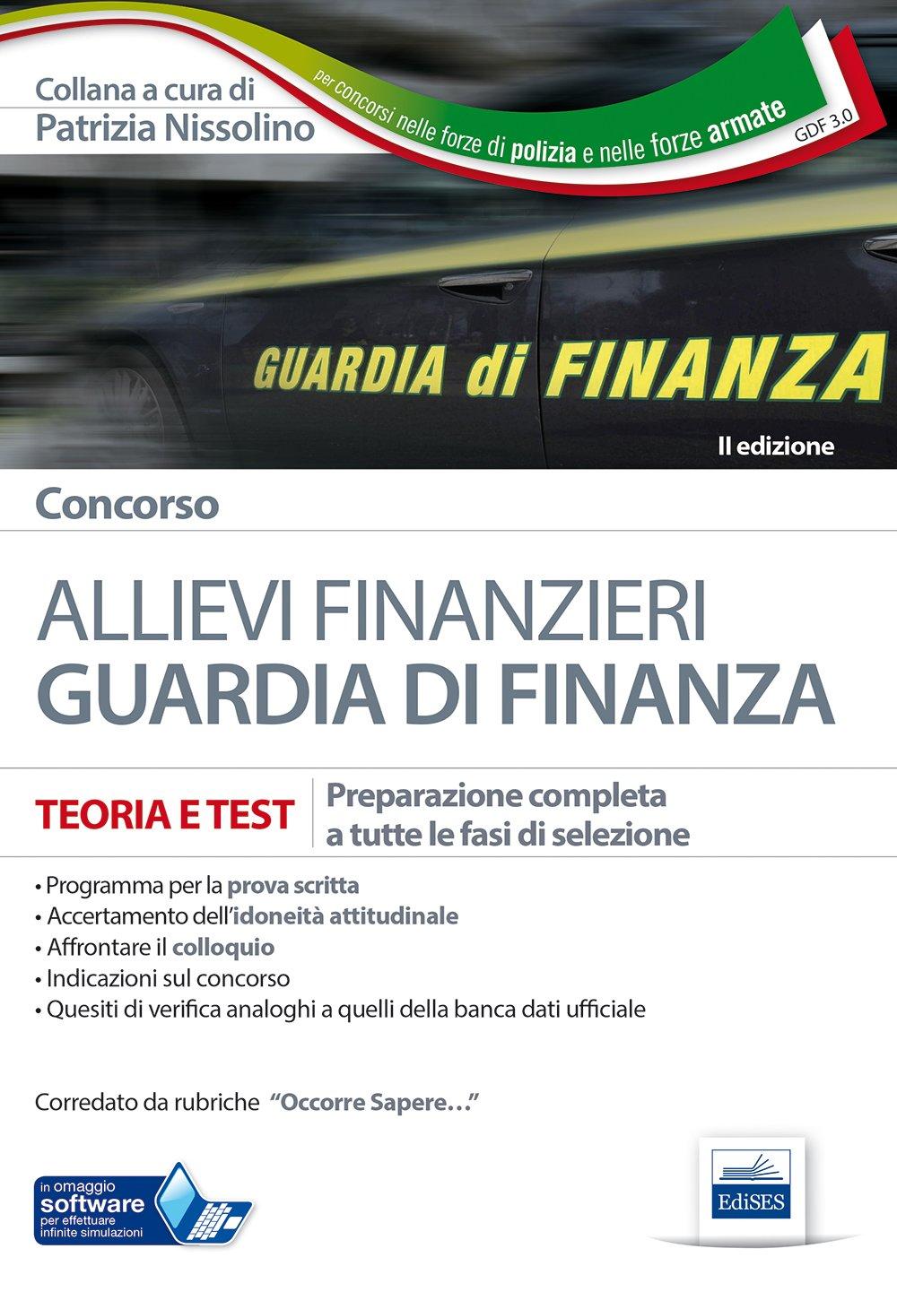libro concorso finanzieri