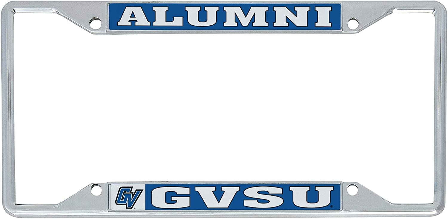 Desert Cactus Grand Valley State University GVSU Lakers NCAA Metal License Plate Frame for Front or Back of Car Officially Licensed Alumni