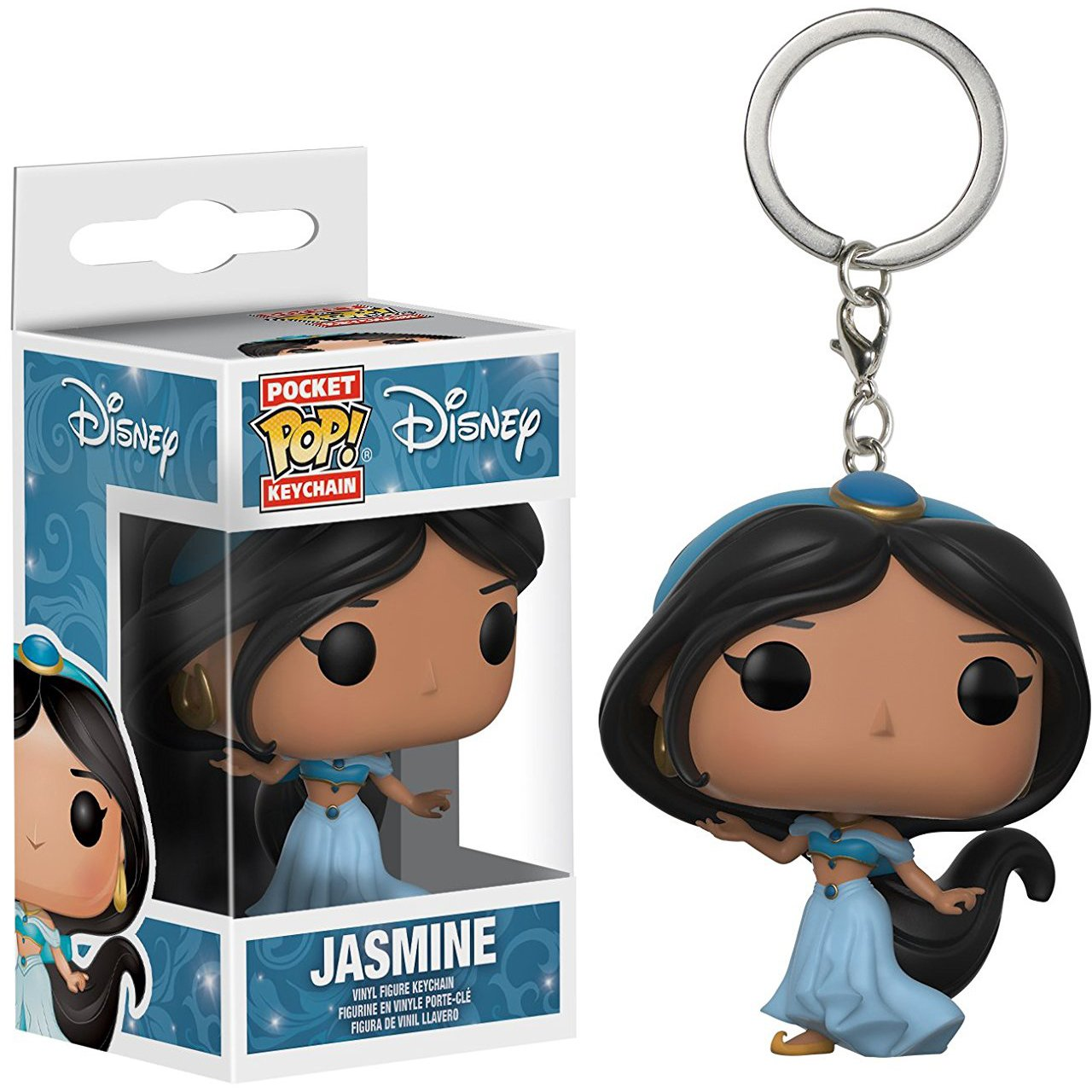 Amazon.com: Funko Jasmine Pocket POP! x Disney - Aladdin ...