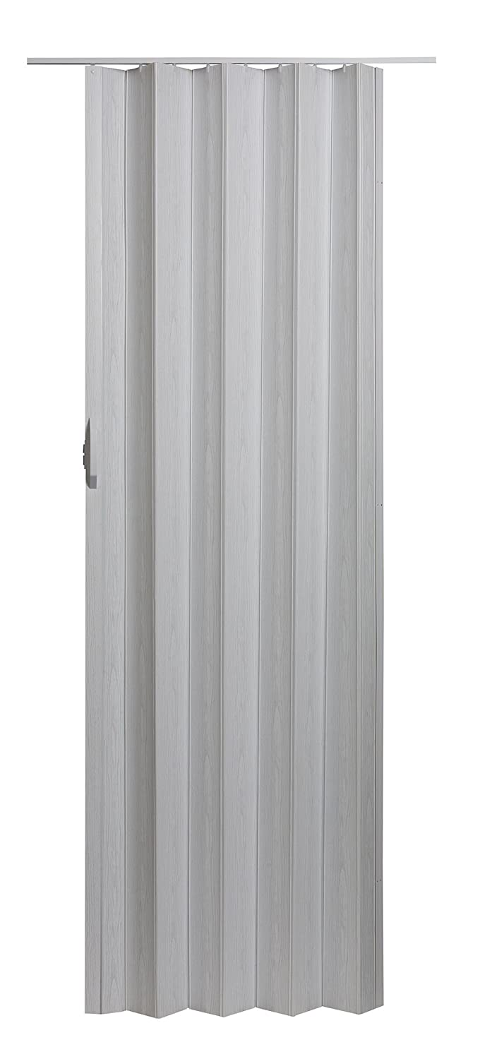 "Spectrum VS3280M Via 24"" to 36"" x 80"" Accordion Folding Door, White Mist"