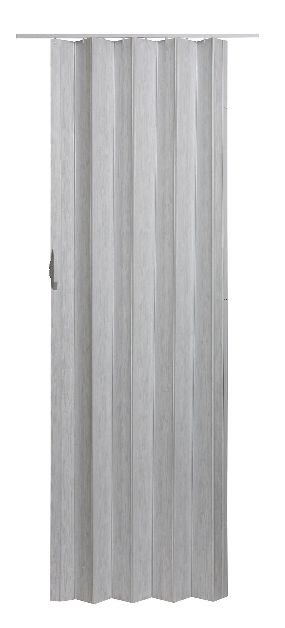 Spectrum VS3280M Via 24'' to 36'' x 80'' Accordion Folding Door, White Mist