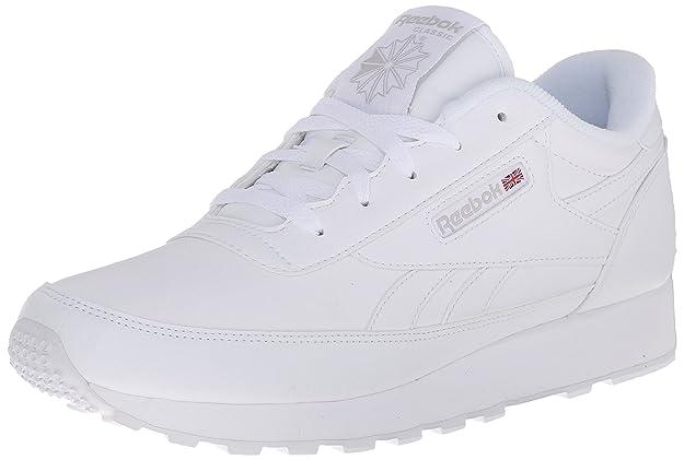 Reebok Women's Classic Renaissance Sneaker, White/Steel, 7.5 D US