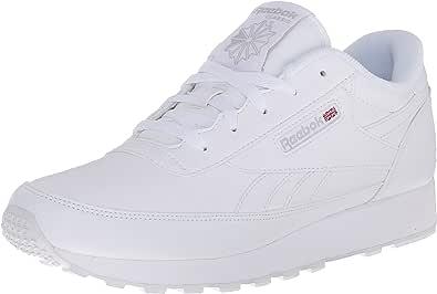 Reebok Women's Classic Renaissance Sneaker, White/Steel, 5 M US