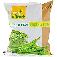 Veg Affaire Green Peas - Frozen, 1kg Pouch