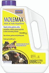 Bonide Products INC 691 MoleMax Repellent Granules 5lb, BRNSTBLSUP