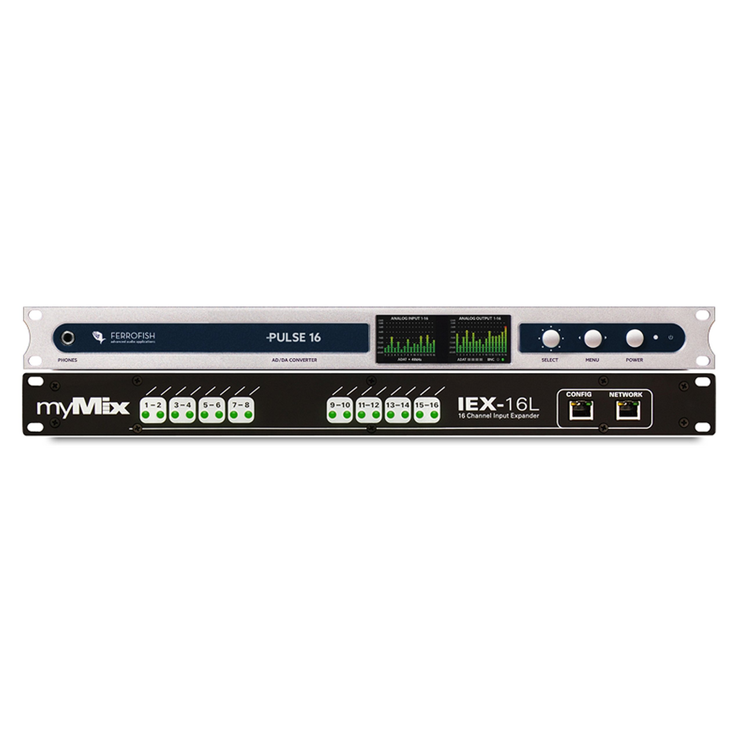 myMIX MADI-16FER, MADI to myMIX Audio Interface