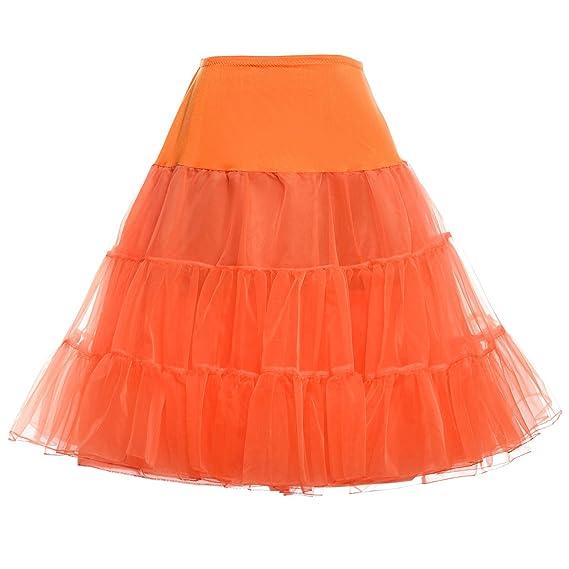 GRACE KARIN® Mujeres Tutú Falda Petticoat para años 50 Estilo ...