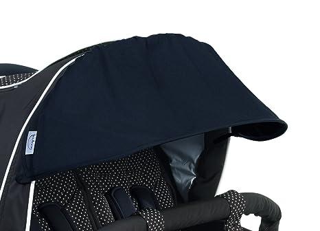 Teutonia Sunset - Protector solar para carrito de bebé Team Cosmo, color negro