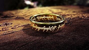 De el Señor de los anillos un anillo y llavero imán de ...