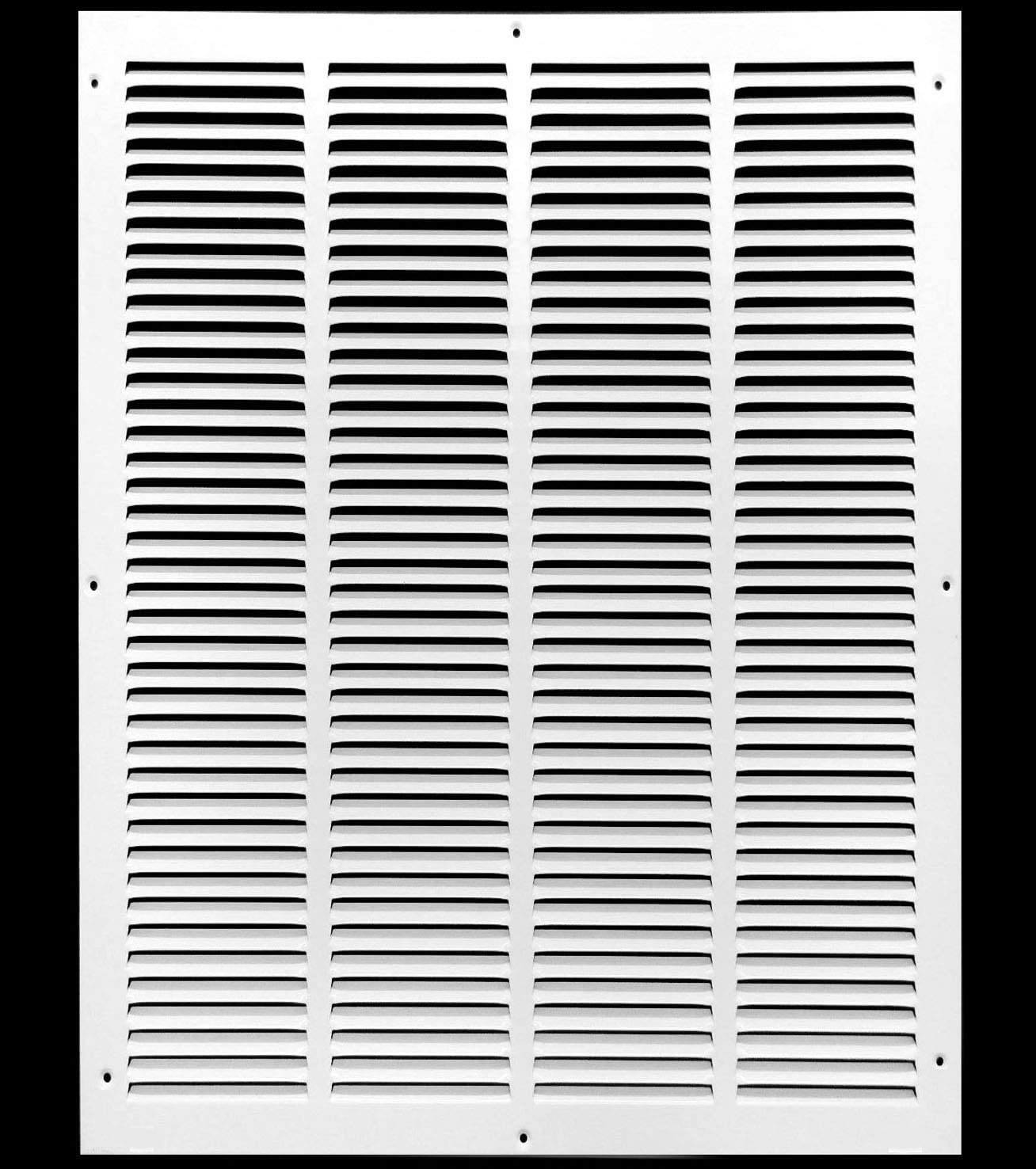 "18"" x 22"" Return Air Grille - Sidewall and Ceiling - HVAC Vent Duct Cover Diffuser - [White] [Outer Dimensions: 19.75w X 23.75""h]"
