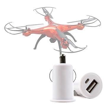 DURAGADGET Cargador De Mechero del Coche con Puerto USB para Dron ...
