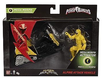 PR Power Rangers Super Ninja Steel Mega Morph Vehicle Alpine ...
