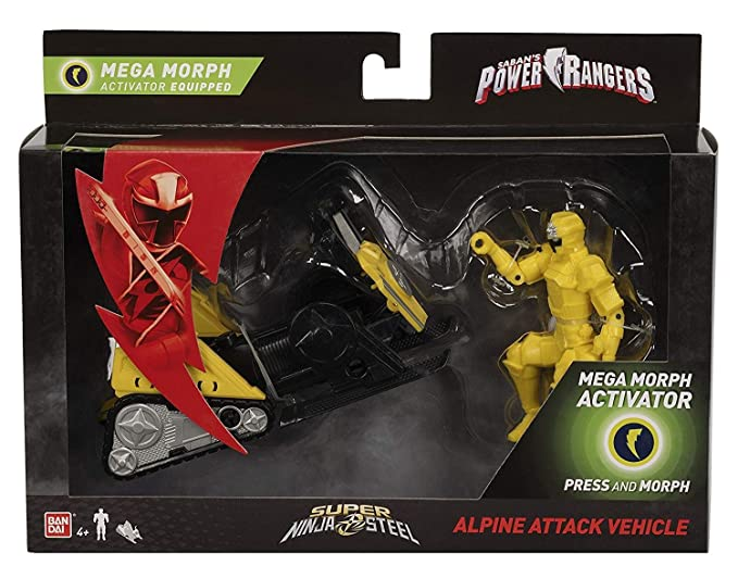 PR Power Rangers Super Ninja Steel Mega Morph Vehicle Alpine ...