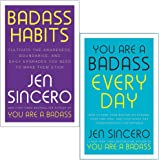 Badass Habits & You Are a Badass Every Day By Jen Sincero 2 Books Collection Set