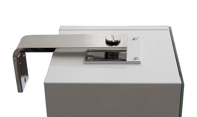 Habitat Miya White Gloss Small Spin Rotating Bathroom Cabinet with ...