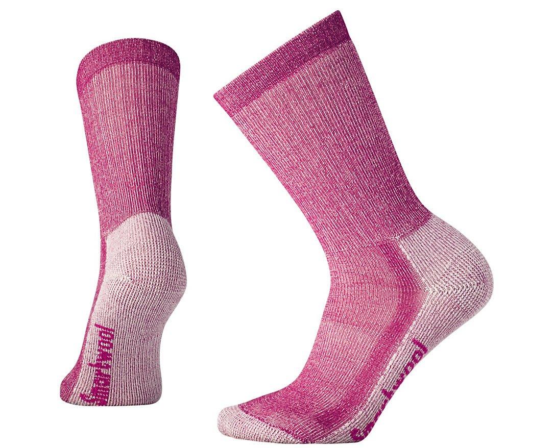 Smartwool Women's Hike Medium Crew Socks (Berry) Large