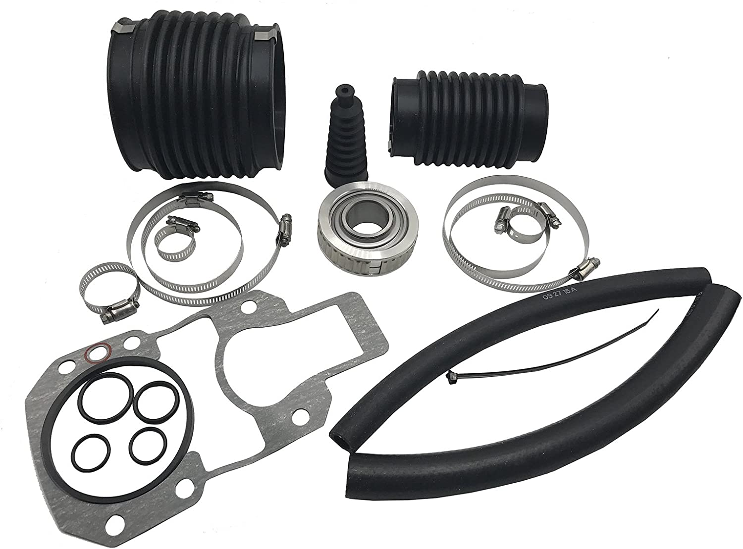 Alpha One GEN 1 Bellow Transom Seal Repair kit with Gimbal Bearing and bellows