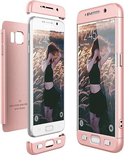 CE-LINK Coque Samsung Galaxy S6 Housse Etui Anti-égratignures ...