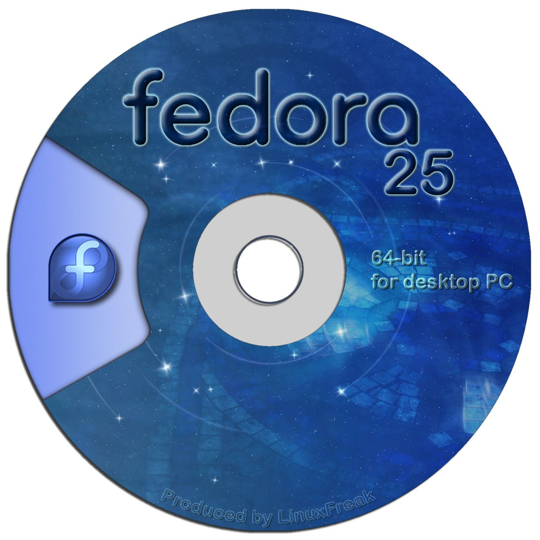 Fedora Linux 25 on DVD - 64-bit Version