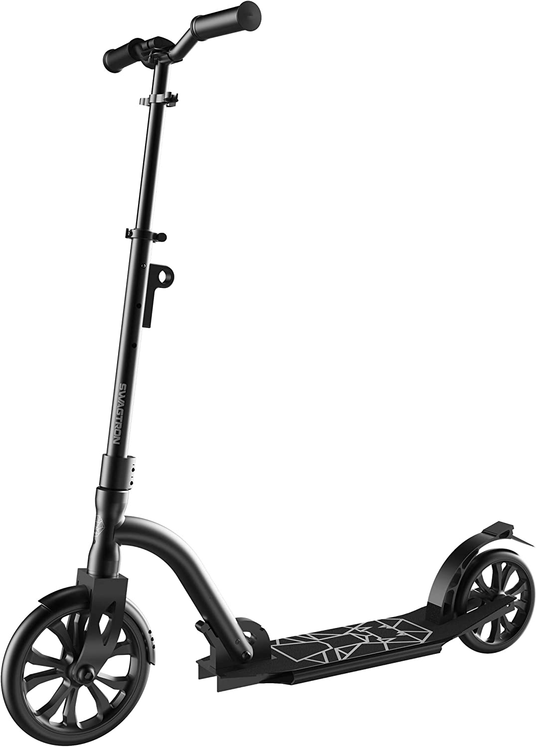 CITYGLIDE C200 Kick Scooter for Adults, Teens, Foldable, Lightweight, Adjustable