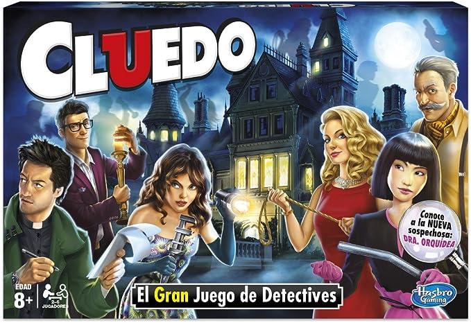 Hasbro Gaming Gaming Clasico Cluedo (Versión Española), Miscelanea ...