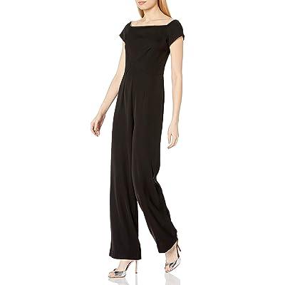 Trina Trina Turk Women's Margot Embellished Off The Shoulder Jumpsuit: Clothing
