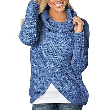 ❤ Modaworld Sudadera con Capucha sólida de Manga Larga para Mujer Camisa de Blusa Tops Camisas Sudaderas Mujer Tumblr Blusas de Jersey Camiseta suéter: ...