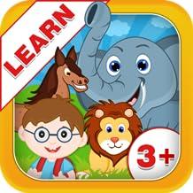 Learn Animal Names - Kids Fun