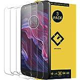 CENTAURUS Compatible with Motorola Moto X4 Screen Protector,(3 Packs) Anti-Glare Hardness Tempered Glass Protective Film…