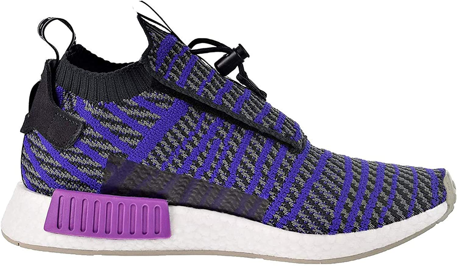 adidas Originals NMD_TS1 Primeknit Shoe - Men's Casual 12.5 Carbon/Energy Ink/Grey