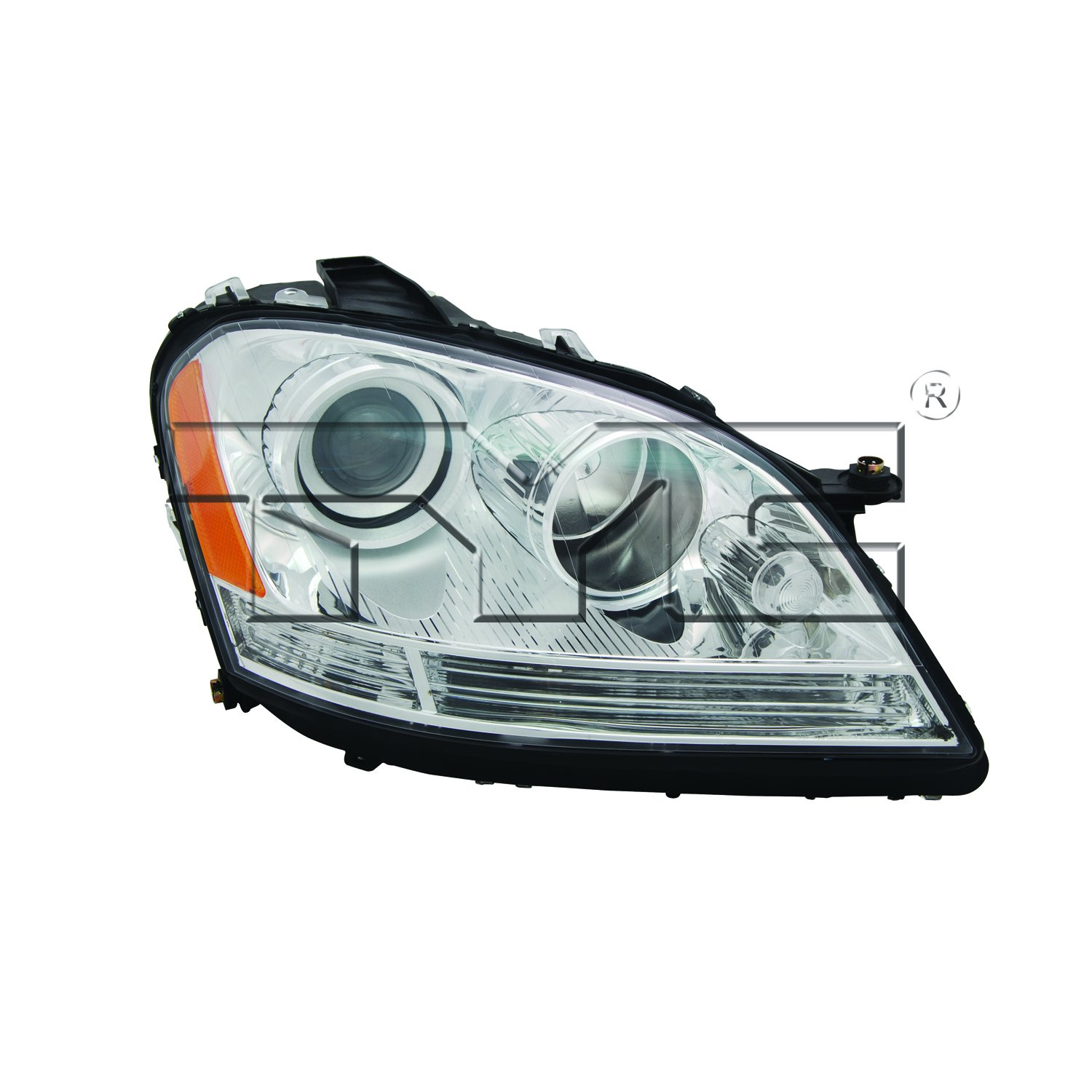 TYC 20-6915-00-1 Mercedes-Benz Right Replacement Head Lamp