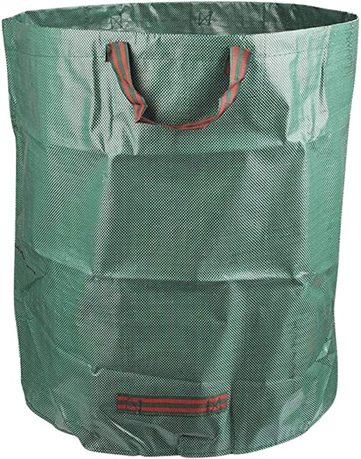 Juego de 1 bolsa de jardín, bolsa de desechos de jardín de 272 L hecha de