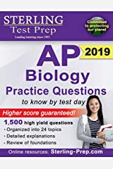 Sterling Test Prep AP Biology Practice Questions: High Yield AP Biology Questions Paperback