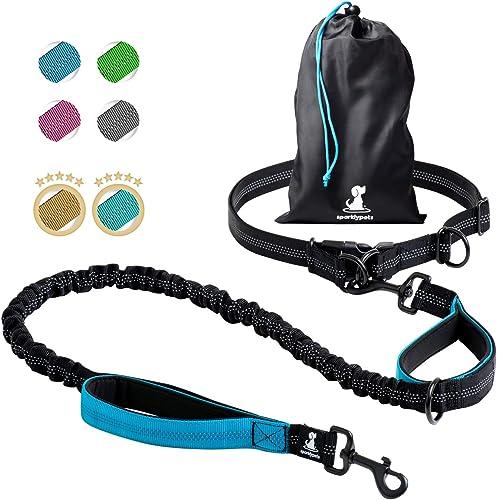 SparklyPets-Joggingleine-für-Hunde-zum-Laufen-Joggen-und-Wandern