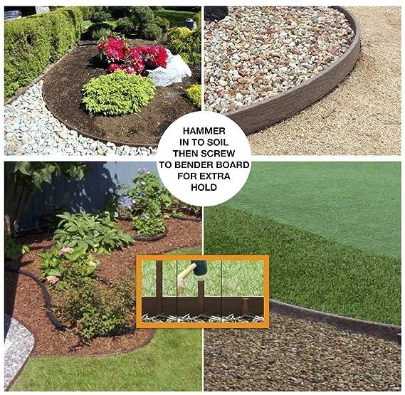 One Stop Outdoor USA Made - Kit de Bordes de jardinería, Jardinera ...