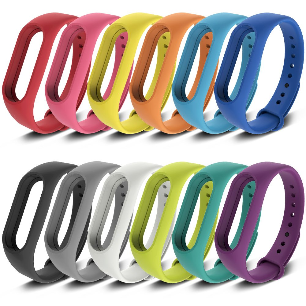 FUNKID Band for Xiaomi 2 Smartwatch Wristbands Replacement for Mi2 Bands