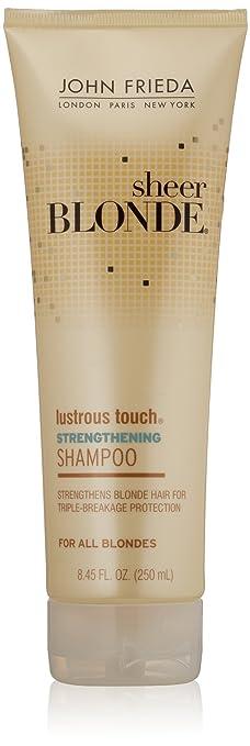 Amazon Com John Frieda Sheer Blonde Lustrous Touch Strengthening