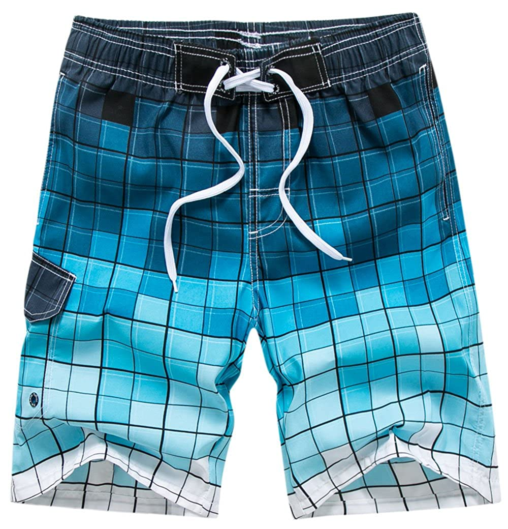 68fe16d82a Material: These swim trunks are made from a 4-way stretch polyester/spandex  blend and mesh liner. This fabric offer quick dry, breathable and soft ...