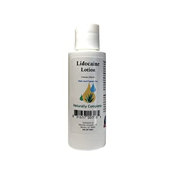 Amazon com: Naturally Complete 5% Lidocaine Lotion with